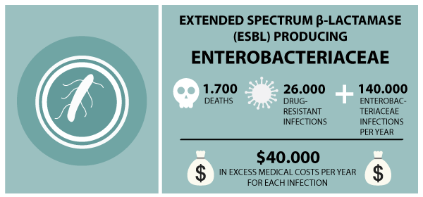 The cost of ESBL